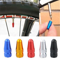 Bike Bicycle Fixie MTB Presta Wheel Rim Tyre Stem Air Valve Caps Dust Cover FO