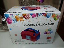 chamvis Electric Balloon Pump Dual Nozzle Inflator Blower for Balloon Column Sta