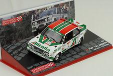 Fiat 131 Abarth 1000 Lakes Rally 1979 Alitalia # 1 1:43 IXO Altaya