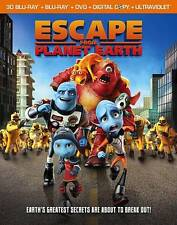Escape From Planet Earth  3d blu ray and case only