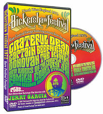 Bickershaw Festival DVD Volume One Grateful Beefheart etc signed directors cert