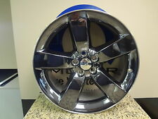 "Challenger Charger 300 Wheels 20"" 20x8 Black Chrome Mopar Genuine Oem Set Of 4"