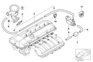 Genuine BMW E46 325i 325Ci M56 Valve Exhaust Gas Recirculation OEM 11727573932