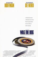 WAG THE DOG Movie POSTER 27x40 C Dustin Hoffman Robert De Niro Anne Heche Woody