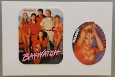 2x Sticker - Decal  / Pamela Anderson Baywatch original 80/90's (08648)