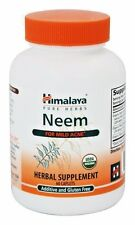 Himalaya USA Neem Systemic Purifier, 60 caps PROSTATE & SKIN SUPPORT- DR MERCOLA