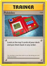 3x Pokedex x3 POKEMON XY Evolutions 82/108 Trainer card 2016