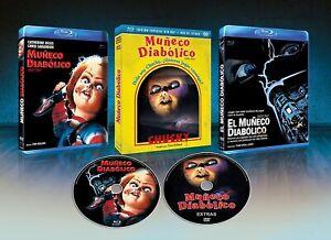 MUÑECO DIABÓLICO (CHILD´S PLAY) EDICIÓN ESPECIAL BLURAY+ DVD EXTRAS
