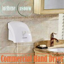 Bathroom Automatic Infared Sensor Hand Dryer Hotel Hands Drying Device White