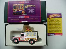 Corgi Showmans 07413 John Biddall Funfair Land Rover & Horse - Premium Edition.