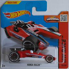 HOT Wheels-HONDA RACER ROSSO/Bianco Nuovo/Scatola Originale
