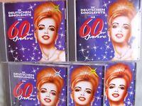 Die deutschen Singlehits der 60er Jahre- 90 Titel auf 5 CDs (ohne Pappbox)