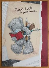 'Good Luck In Your Exams' Me To You Card - Tatty Bear - 6.75x4.75""