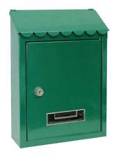 Cassette postali e copriferitoia verde per il bricolage e fai da te