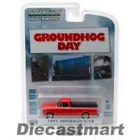 Greenlight 1:64 Groundhog Day 1971 Chevrolet C-10 44810C S21 Orange Model Car