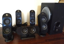Logitech X-530 Speaker 5.1 channel Sound System with Subwoofer & 5 speakers