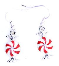 ingranaggio Natale Windmill modello caramelle dolci orecchini, marcia Xmas