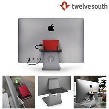 Twelve South BackPack Adjustable Storage Shelf Stand Mount iMac Apple Black