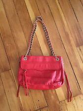 Rebecca Minkoff NWOT Red Scarlett Leather Swing Shoulder Bag Purse