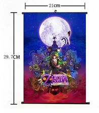 "Hot Japan Anime The Legend of Zelda Home Decor Poster Wall Scroll 8""x12"" 06"