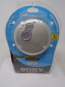 Sony CD Walkman D-FJ401 FM AM TV Weather Band Discman CD Player