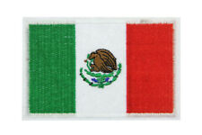 Mexican Country Flag Patch Emblem Embroidered MEXICO Sew Iron Badge Applique
