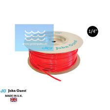 """GPC Schlauch rot 1/4"""" John Guest (1lfm=1,-€) für Osmose,Wasserfiler made in U.K."""