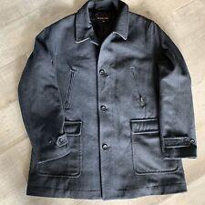 Michael Kors Men's 54% Wool Winter Coat Size 2XT Dark Grey Charcoal Big Tall EUC