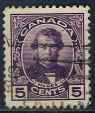 Canada #146(8) 1927 5 cent violet THOMAS D'ARCY McGEE Used CV$5.00