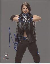 Aj A.J. Styles Wwe Signed 8x10 Photo Photofile Autograph w/ Coa