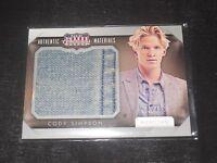 Panini Americana Costume Trading Card Musician Cody Simpson 433/499