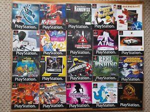 20 x JOB LOT of PAL PlayStation 1 PS1 GAMES INSTRUCTION MANUAL BOOKLET BUNDLE *C