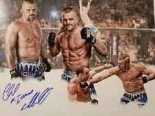 "CHUCK ""ICEMAN"" LIDDELL - SIGNED AUTOGRAPHED 11x14 PHOTO - UFC - PSA DNA COA"