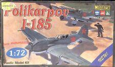 Modelist 1:72 Polikarpov I-185 WWII Soviet Plastic Aircraft Model Kit #3107U