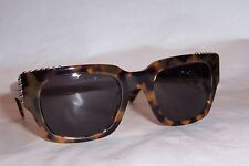 NEW MARC BY MARC JACOBS SUNGLASSES MMJ 485/STUDS LO7-Y1 HAVANA/GRAY AUTHENTIC