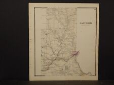 New York, Broome County Map, 1866, Sanford Township, Y5#25