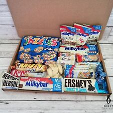 TITAN WHITE CHOCOLATE Gift Hamper Selection Mix Boxes Milky Bar Kinder Hershey!!