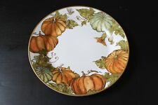 Pottery Barn Heritage Pumpkin DINNER Plate Thanksgiving Fall NEW RARE