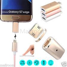 Micro USB Magnetisch Adapter Daten Lade Metal Kabel Plug für Android LG Samsung