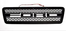 Boost-Bars Black Overlay Grille and LEDs Kit 2004-2008 Raptor F 150