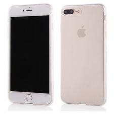 """Custodia Cover Case slim per apple iphone 7 ed 8 plus 5,5"""" silicone trasparente"""