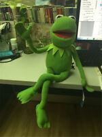"Kermit Sesame Street Muppets Kermit the Frog Toy plush 18"" Kids Gift"