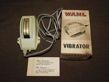 VINTAGE MASSAGER WAHL ELECTRIC SUPERS ACE  MODEL 440A VIBRATOR IN BOX