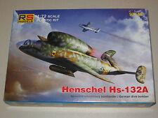 1/72 Scale RS Models Henschel Hs-132A German Jet Dive Bomber (BMW003)