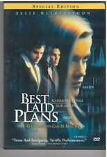 BEST LAID PLANS (DVD, 2000, Special Edition) INCLUDES INSERT