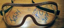 Justify triple crown 2018 goggles autograph mike smith