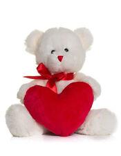 Herz Bär Stofftier mit Herz Geschenk Geburt Valentinstagsgeschenk