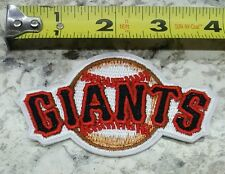 """San Francisco Giants 3.5"""" Iron/Sew On Embroidered Patch FREE SHIPPING FROM U.S."""