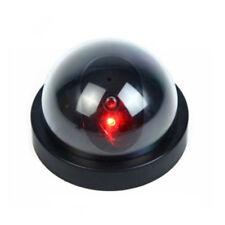 Wireless LED Fake Dome Camera Surveillance Flashing Dummy Security CCTV Magic