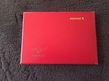 Bentley Arnage R 2003 2004 Owners Manual Handbook Arabic TSD8575 NOS OEM RARE